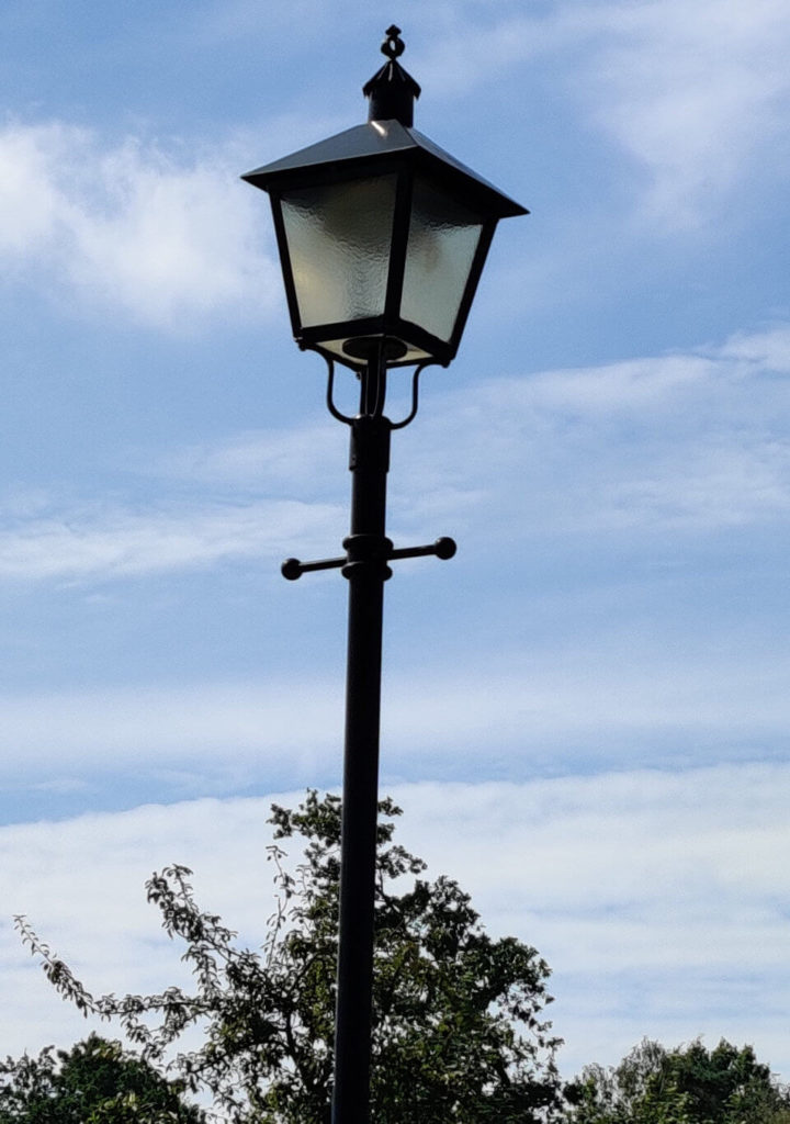 Neue LED Laternen in Drestedt