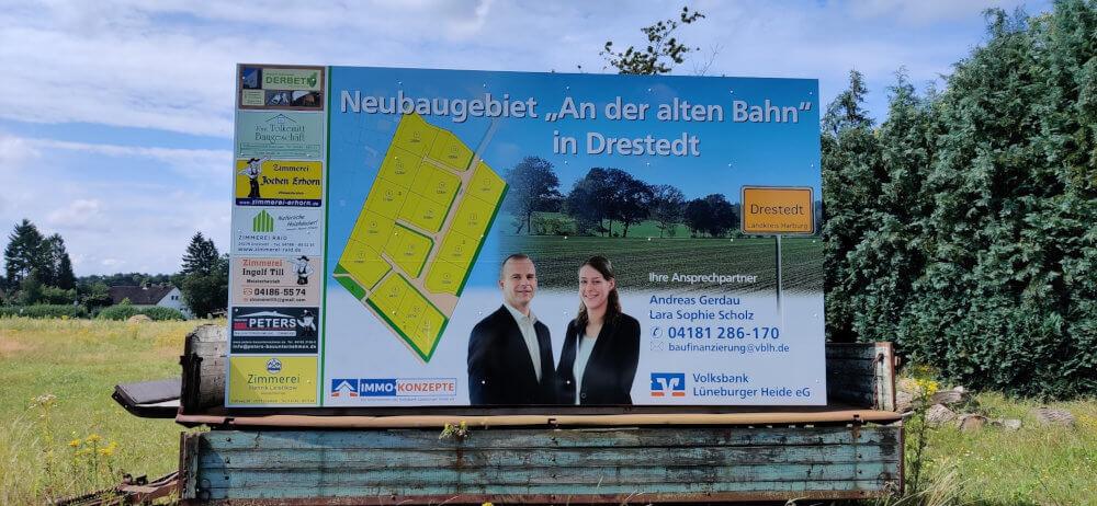 Neubaugebiet Drestedt