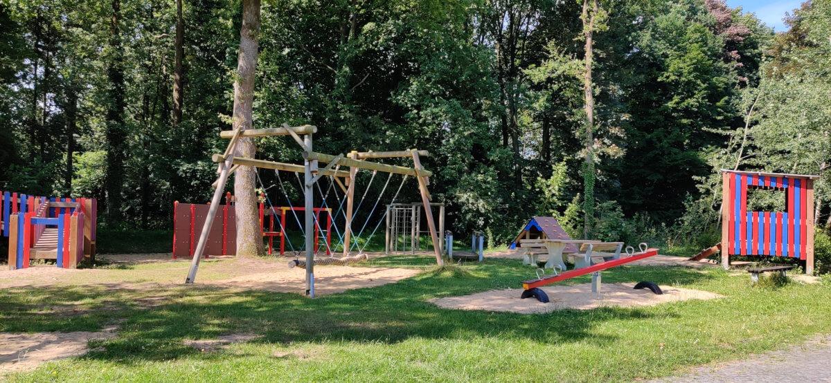 Neuer Spielplatz in Drestedt