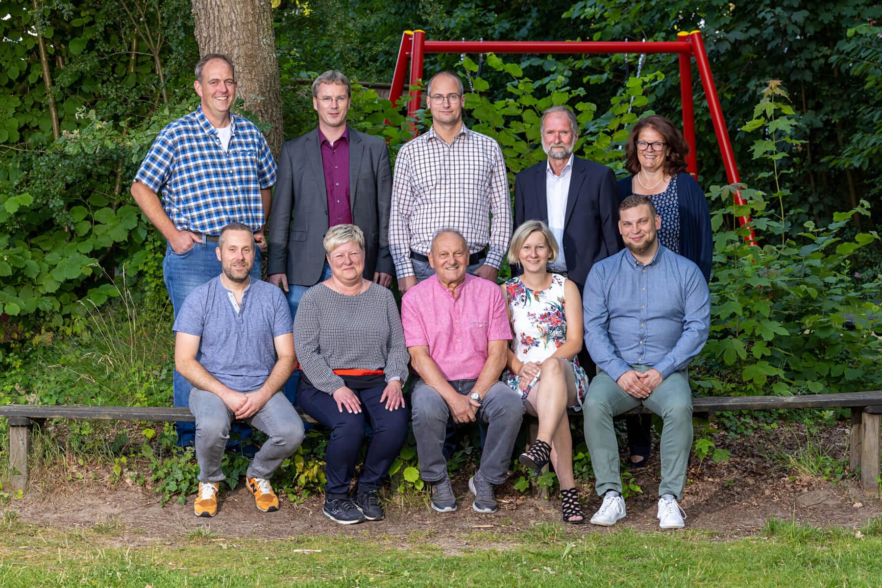 Wählergemeinschaft Drestedt Gruppenbild